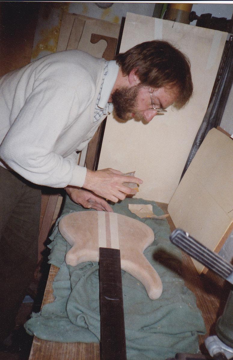 1988: Bass #1 im Bau