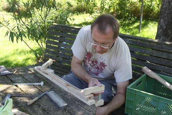 Werkstatt im Garten